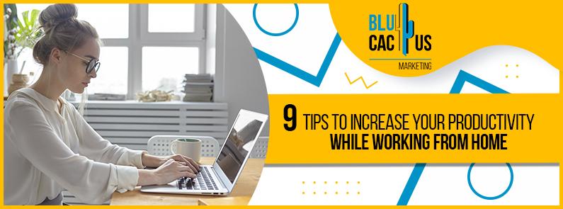 BluCatus - Teleworking tips - title