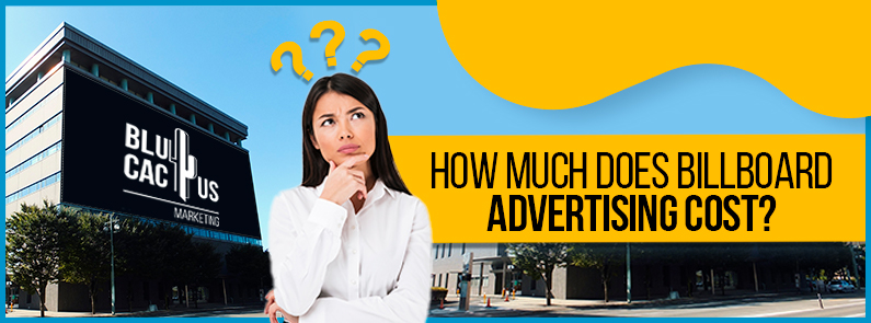 BluCactus - billboard advertising - title