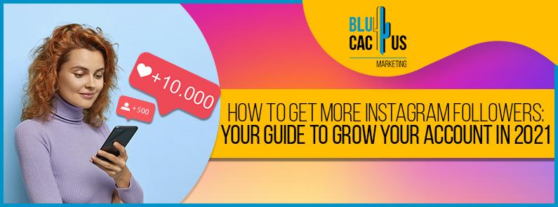 BluCactus -Gain more Instagram followers - title