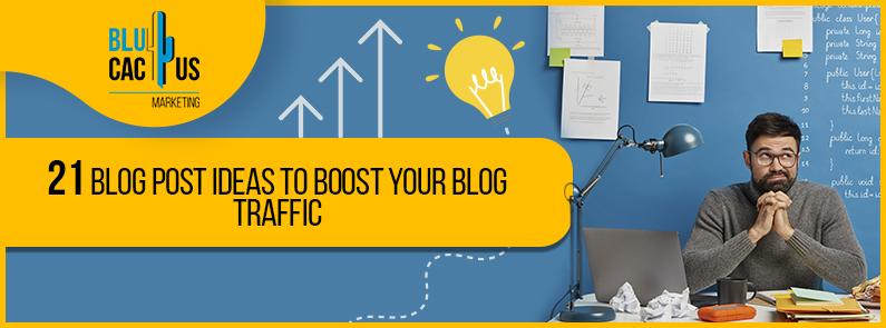 BluCactus - blog post ideas - title
