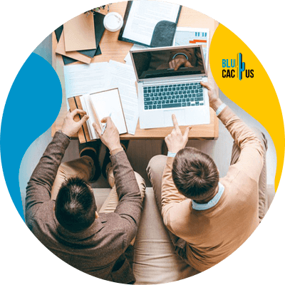 BluCactus - blog post ideas - people working
