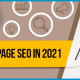 Blucactus - A Guide To On Page SEO In 2021 banner