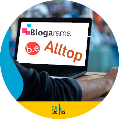 Blucactus - make backlinks in 2021 - Blog aggregator link