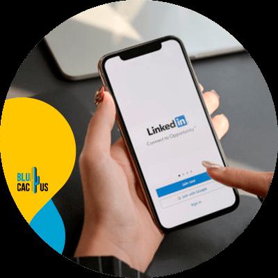 Blucactus - create a linkedin profile