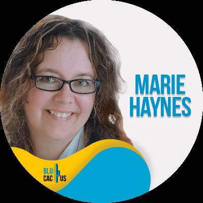 Blucactus - Marie Haynes