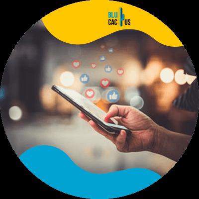 Blucactus - integrate social media