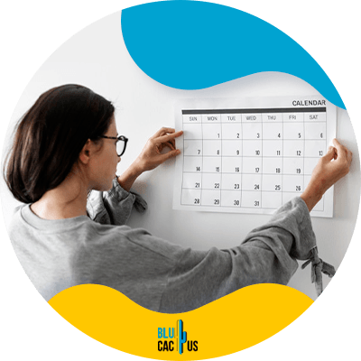 Blucactus-17-Stick-to-your-schedule - 17 ways to be more productive while blogging