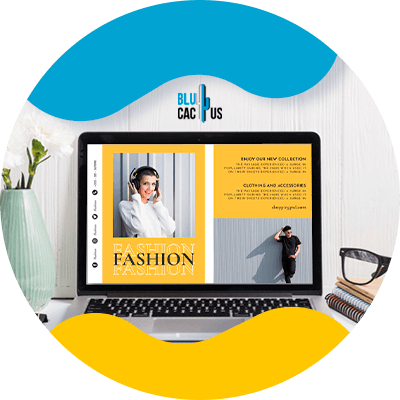 Blucactus - selling own products - How to Start A Fashion Blog And Make Money In 2021