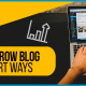 Blucactus - 15 smart ways to learn how to grow a blog