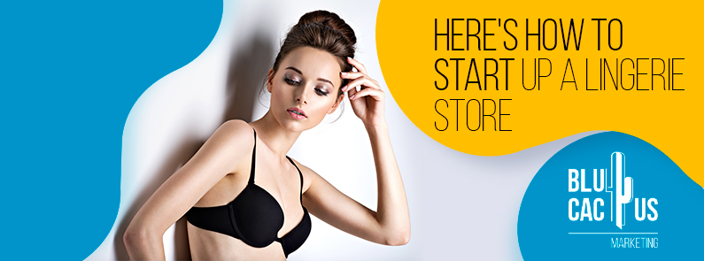 BluCactus - start up a lingerie store